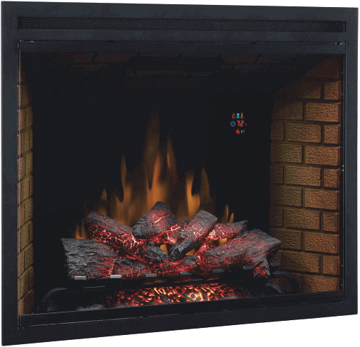 electric fireplace inserts logs reviews