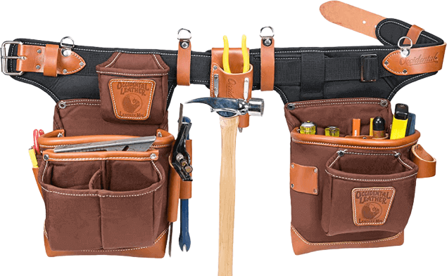 best electrician tool belt with suspenders